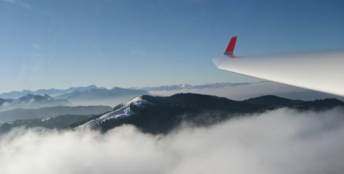 Blick aus der IT zum Zwiesel und zur Zugspitze