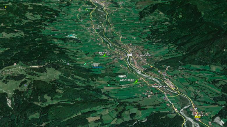 Aussenlandefelder